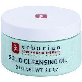 Erborian Detox Solid Cleansing Oil odličovací a čisticí balzám 2v1  80 g