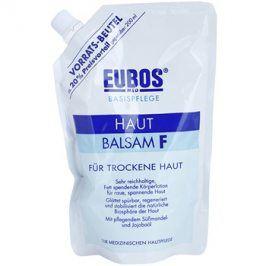 Eubos Basic Skin Care F tělový balzám pro suchou pokožku náhradní náplň  400 ml