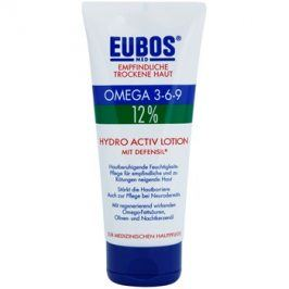 Eubos Sensitive Dry Skin Omega 3-6-9 12% tělový balzám pro posílení ochranné bariéry s dlouhotrvajícím hydratačním účinkem  200 ml