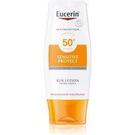 Eucerin Sun Sensitive Protect extra lehké mléko na opalování SPF50+  150 ml