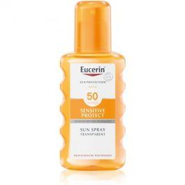 Eucerin Sun Sensitive Protect ochranný sprej na opalování SPF50  200 ml