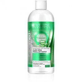 Eveline Cosmetics FaceMed+ micelární voda s aloe vera  400 ml