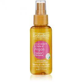 Evoluderm Beauty Oil zkrášlující olej na pleť a vlasy s arganovým olejem  100 ml