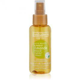 Evoluderm Beauty Oil zkrášlující olej na pleť a vlasy s výtažky z mandlí  100 ml