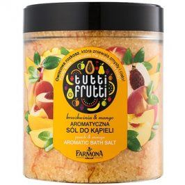 Farmona Tutti Frutti Peach & Mango sůl do koupele  600 g