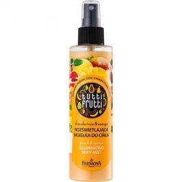 Farmona Tutti Frutti Peach & Mango třpytivá tělová mlha s vyhlazujícím a vyživujícím účinkem  200 ml