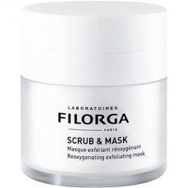 Filorga Medi-Cosmetique Scrub&Mask okysličující exfoliační maska pro obnovu pleťových buněk  55 ml