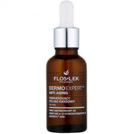 FlosLek Pharma DermoExpert Acid Peel omlazující noční péče s exfoliačním účinkem  30 ml