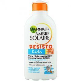Garnier Ambre Solaire Resisto Kids ochranné mléko pro děti SPF50+  200 ml