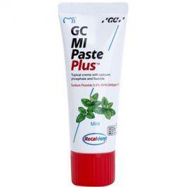 GC MI Paste Plus Mint remineralizační ochranný krém pro citlivé zuby s fluoridem pro profesionální použití  35 ml