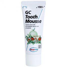 GC Tooth Mousse Tutti Frutti remineralizační ochranný krém pro citlivé zuby bez fluoridu pro profesionální použití  35 ml