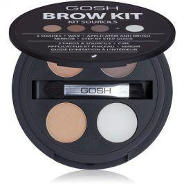 Gosh Brow Kit sada na obočí 001 3,32 g