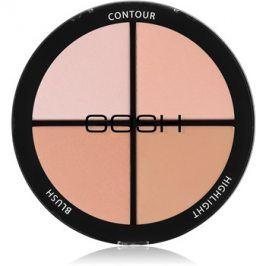 Gosh Contour'n Strobe konturovací a rozjasňující paleta odstín 001 Light 15 g