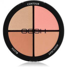 Gosh Contour'n Strobe konturovací a rozjasňující paleta odstín 002 Medium 15 g