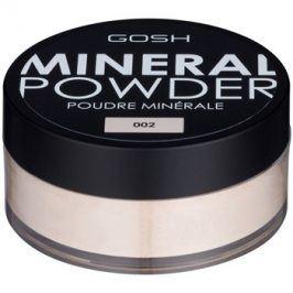 Gosh Mineral Powder minerální pudr odstín 002 Ivory 8 g