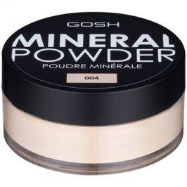 Gosh Mineral Powder minerální pudr odstín 004 Natural 8 g