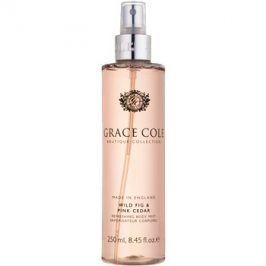 Grace Cole Boutique Wild Fig & Pink Cedar osvěžující tělový sprej  250 ml