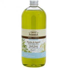 Green Pharmacy Body Care Olive & Rice Milk pěna do koupele  1000 ml