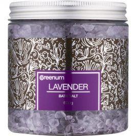 Greenum Lavender koupelová sůl  600 g