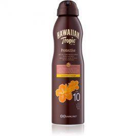 Hawaiian Tropic Protective suchý olej na opalování ve spreji SPF 10  180 ml