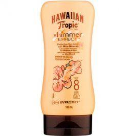 Hawaiian Tropic Shimmer Effect opalovací mléko SPF 8  180 ml