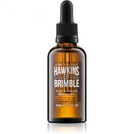 Hawkins & Brimble Natural Grooming Elemi & Ginseng vyživující olej na vousy a knír  50 ml