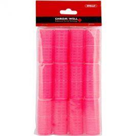 Chromwell Accessories Pink samodržící natáčky ( ø 25 x 63 mm ) 12 ks