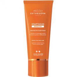 Institut Esthederm Adaptasun Sensitive ochranný krém na obličej se střední UV ochranou  50 ml