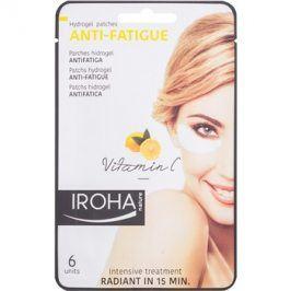 Iroha Anti - Fatigue Vitamin C hydrogelová maska na oční okolí 3 x 2 ks