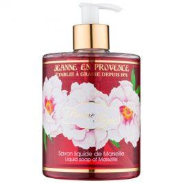 Jeanne en Provence Pivoine Féerie tekuté mýdlo na ruce pivoňka  500 ml