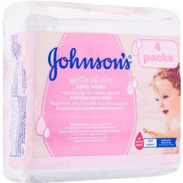 Johnson's Baby Diapering vlhčené ubrousky  224 ks