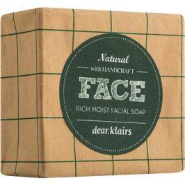 Klairs Rich Moist tuhé mýdlo pro citlivou pleť  100 g