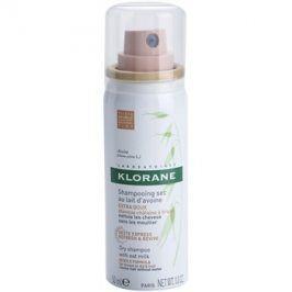 Klorane Avoine suchý šampon pro hnědé a tmavé odstíny vlasů  50 ml