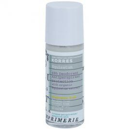 Korres Body Equisetum deodorant roll-on bez parfemace 48h  30 ml