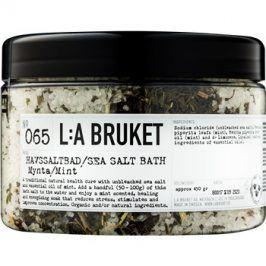 L:A Bruket Spa koupelová sůl s mátou peprnou  450 g