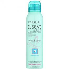 L'Oréal Paris Elseve Extraordinary Clay suchý šampon pro mastné vlasy  150 ml