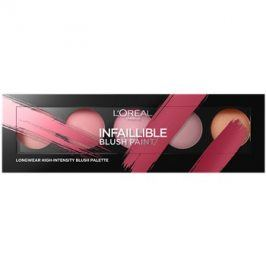 L'Oréal Paris Infaillible Blush Paint paleta tvářenek odstín The Ambers  10 g