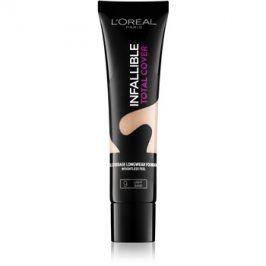 L'Oréal Paris Infallible Total Cover dlouhotrvající make-up s matným efektem odstín 09 Light Sand 35 g