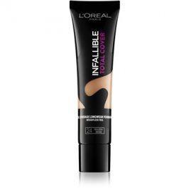 L'Oréal Paris Infallible Total Cover dlouhotrvající make-up s matným efektem odstín 24 Golden Beige 35 g