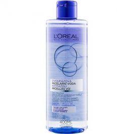 L'Oréal Paris Micellar Water dvoufázová micelární voda pro všechny typy pleti včetně citlivé  400 ml