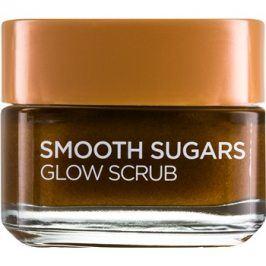 L'Oréal Paris Smooth Sugars Scrub peeling pro rozjasnění pleti  50 ml