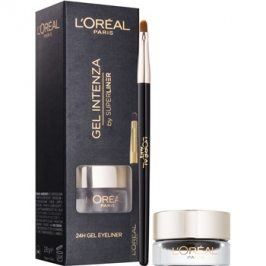 L'Oréal Paris Super Liner gelové oční linky odstín 01 Pure Black  2,8 g