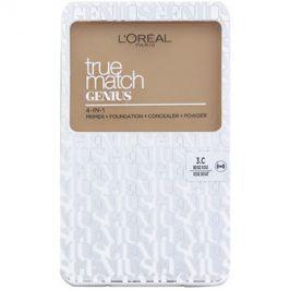 L'Oréal Paris True Match Genius kompaktní make-up 4 v 1 odstín 3.C Rose Beige SPF 30 7 g