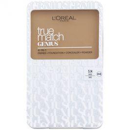 L'Oréal Paris True Match Genius kompaktní make-up 4 v 1 odstín 5.N Sand 7 g