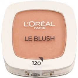 L'Oréal Paris True Match Le Blush tvářenka odstín 120 Sandalwood Rose 5 g