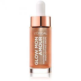 L'Oréal Paris Wake Up & Glow Glow Mon Amour rozjasňovač odstín 02 Loving Peach 15 ml
