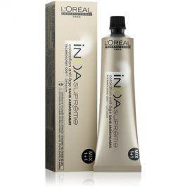 L'Oréal Professionnel Inoa Supreme barva na vlasy bez amoniaku odstín 6,31 Almendra Sutil 60 g
