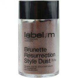 label.m Complete vlasový pudr pro hnědé odstíny vlasů  3,5 g