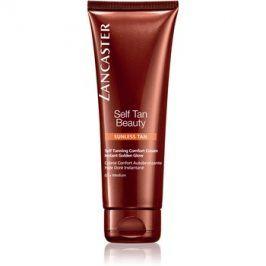 Lancaster Self Tan Beauty komfortní samoopalovací krém na tělo a obličej odstín 02 Medium  125 ml