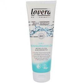 Lavera Basis Sensitiv čisticí pleťové mléko  125 ml